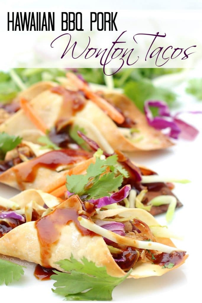These Hawaiian pork tacos are sweet and saucy with an attitude... absolutely delicious! Wanna hear the BEST part? And no, it's not that tantalizing sauce... it's that the crockpot does most of the work for you!