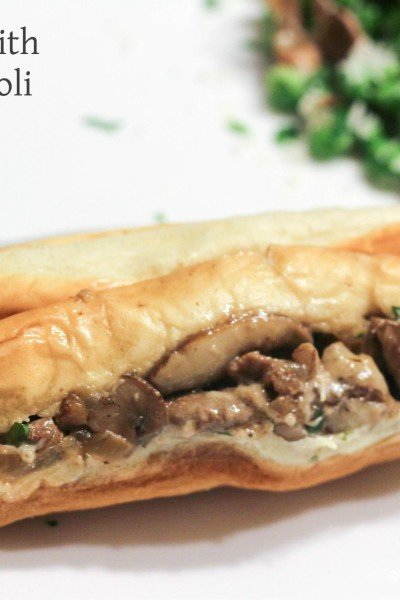 Cheesesteaks with a Horseradish Aioli