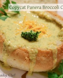 Copycat Broccoli Cheddar Soup