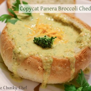 Copycat Broccoli Cheddar Soup