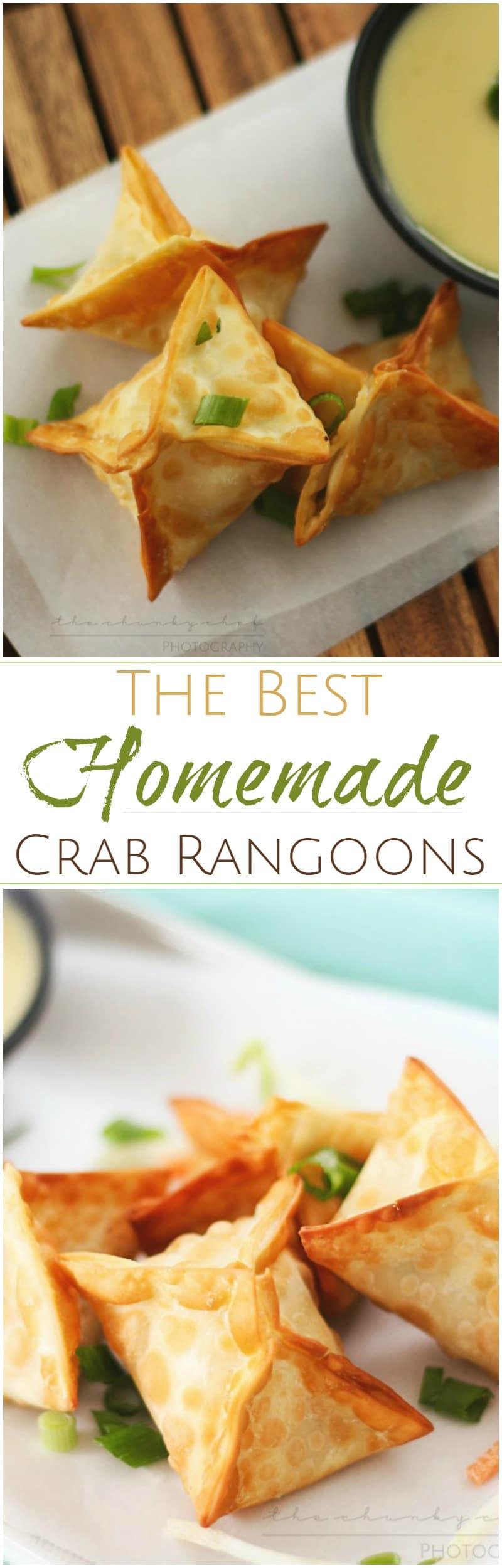 Crab rangoons the chunky chef like your favorite