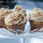Spiced Cupcakes with Apple Cider Frosting
