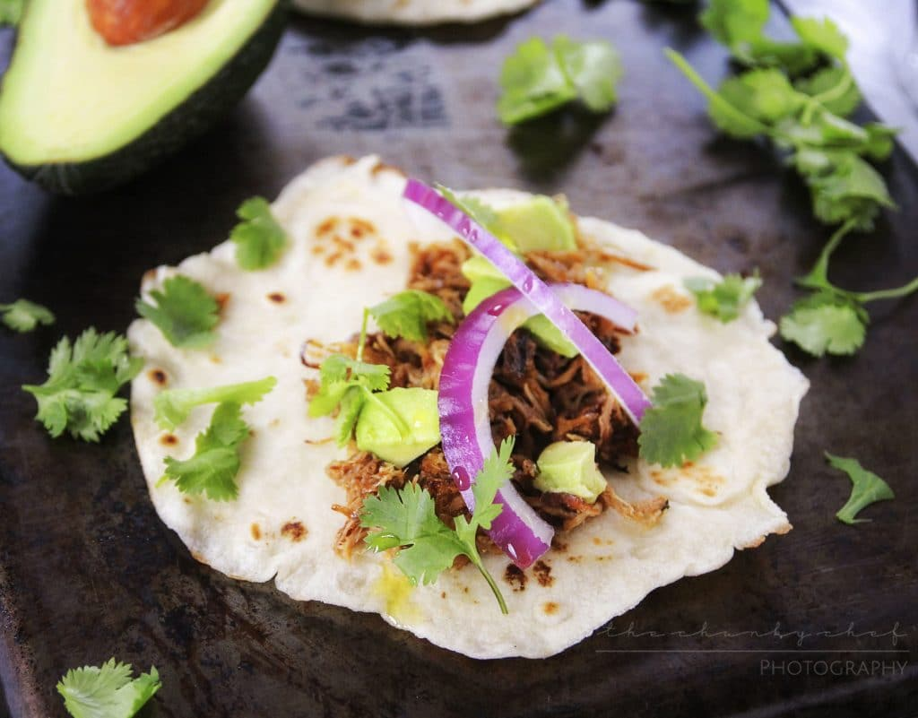 Slow Cooker Pork Carnitas | The Chunky Chef | The amazing combination of spices and citrus make these slow cooker pork carnitas an absolute must try recipe!