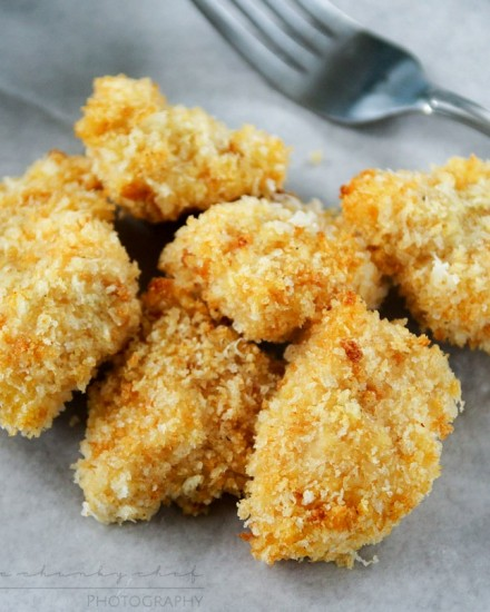 Parmesan Crusted Chicken Nuggets   The Chunky Chef   Amazingly crispy and flavorful baked Parmesan crusted chicken nuggets that both kids and adults will love! Ready in 30 minutes!