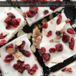 White Chocolate Cranberry and Almond Toffee