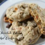 Soft Chocolate Chip Pretzel Cookies
