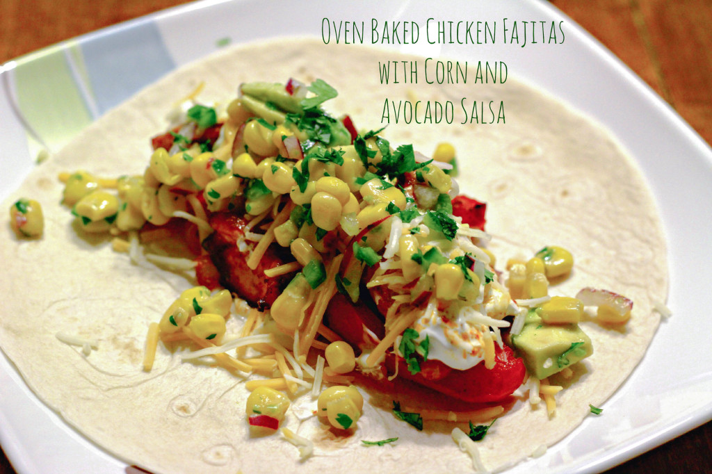 Oven Baked Chicken Fajitas-2
