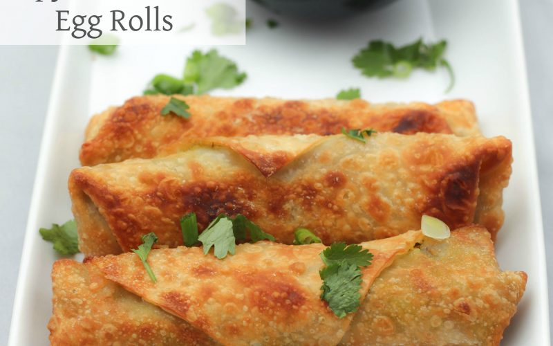 Avocado Egg Rolls