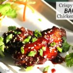 Crispy Sticky Baked Asian Chicken Wings