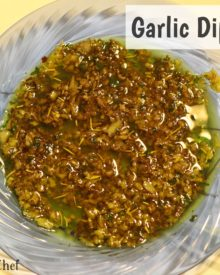 garlic dipping oil