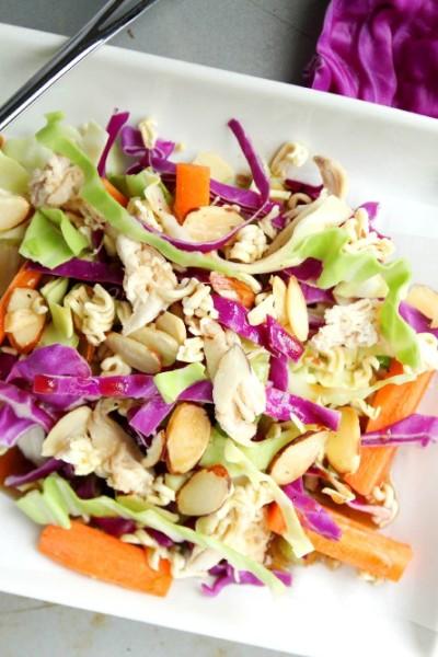 Asian Ramen Noodle Chicken Salad