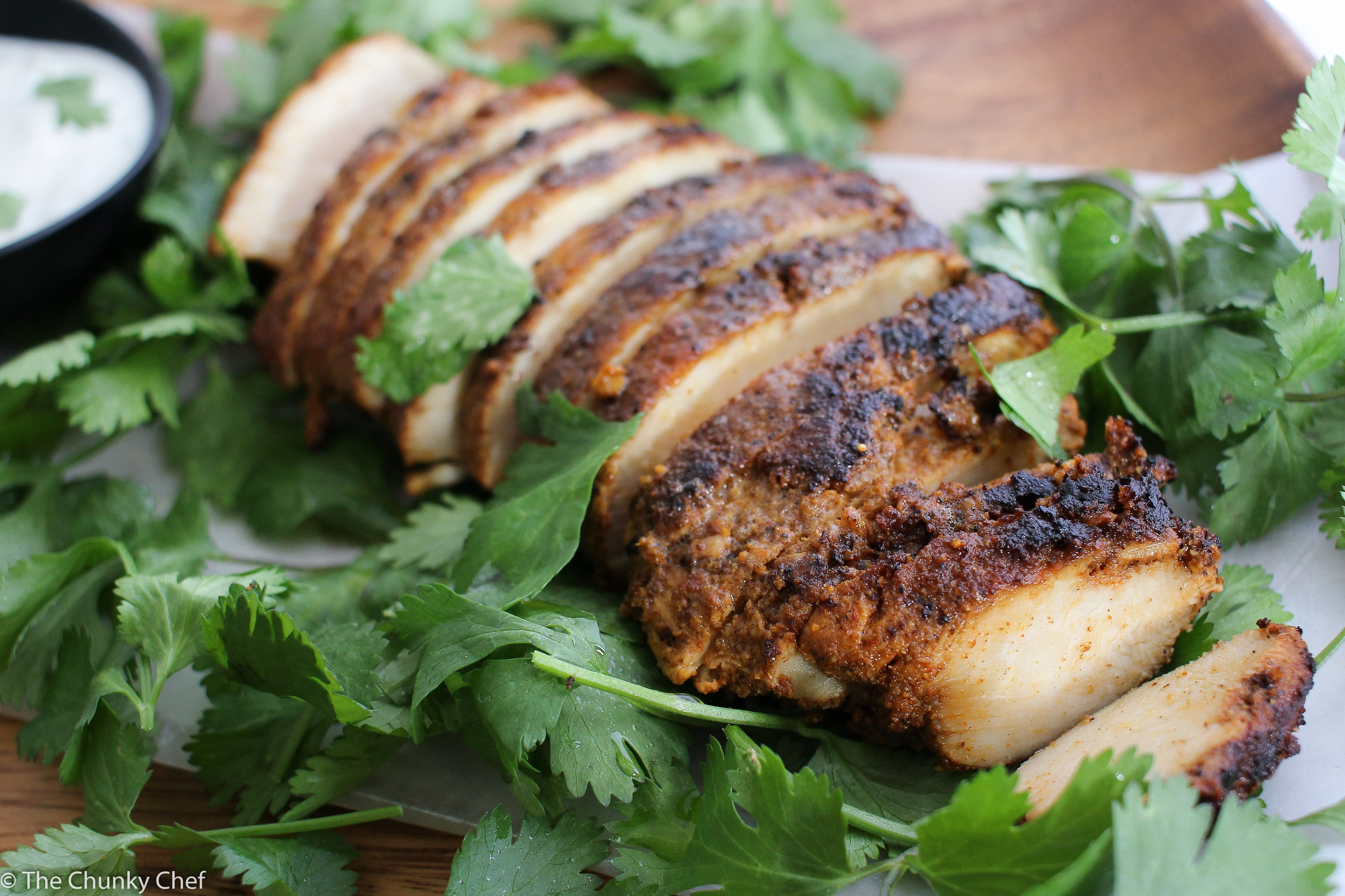 Amazing chicken shawarma the chunky chef chicken marinated with some common spices olive oil and lemon juice will amaze your tastebuds forumfinder Gallery