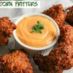 Sweet Corn Fritters with a Spicy Aioli