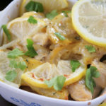 This lemon chicken and potato bake is a bright and fresh take on a hearty comfort food dish. It'll soon be a family favorite!!