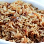 Stick of Butter Rice   Just 4 simple, pantry staple ingredients make up with rice side dish that will blow your mind! Kids and adults alike will be begging you to make it again!   http://thechunkychef.com