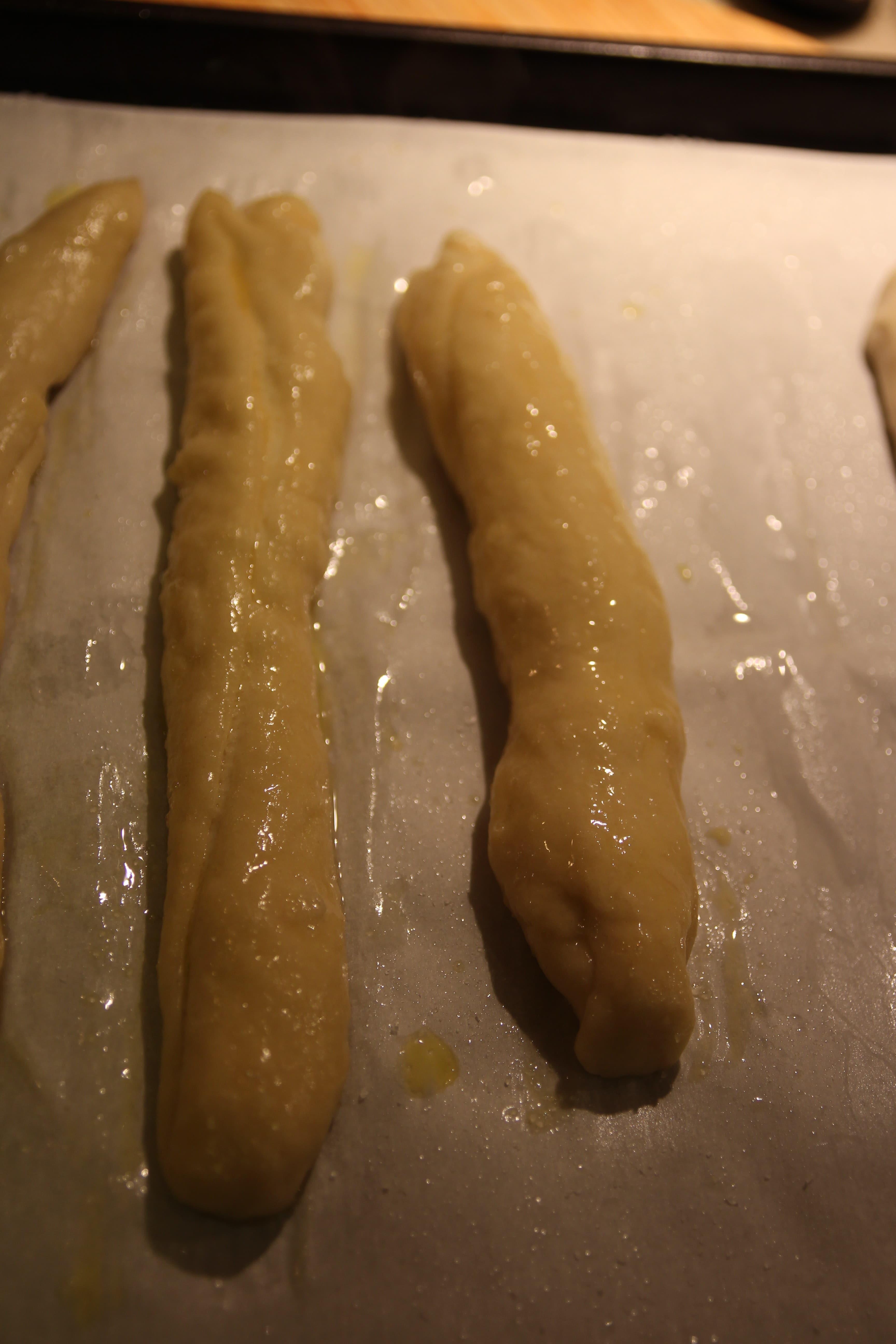 Baked Soft Pretzel Sticks