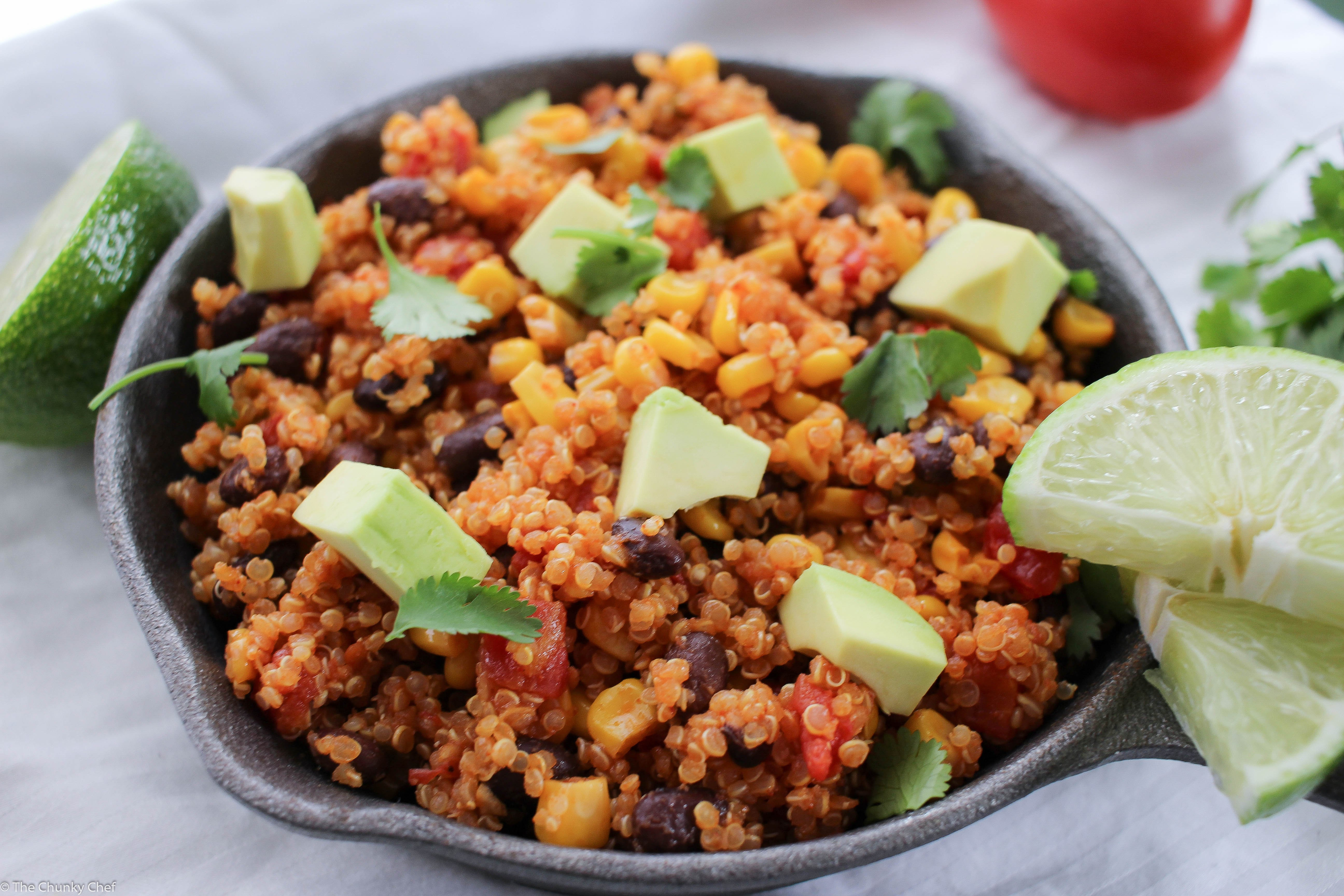 One-Pan Mexican Quinoa Skillet