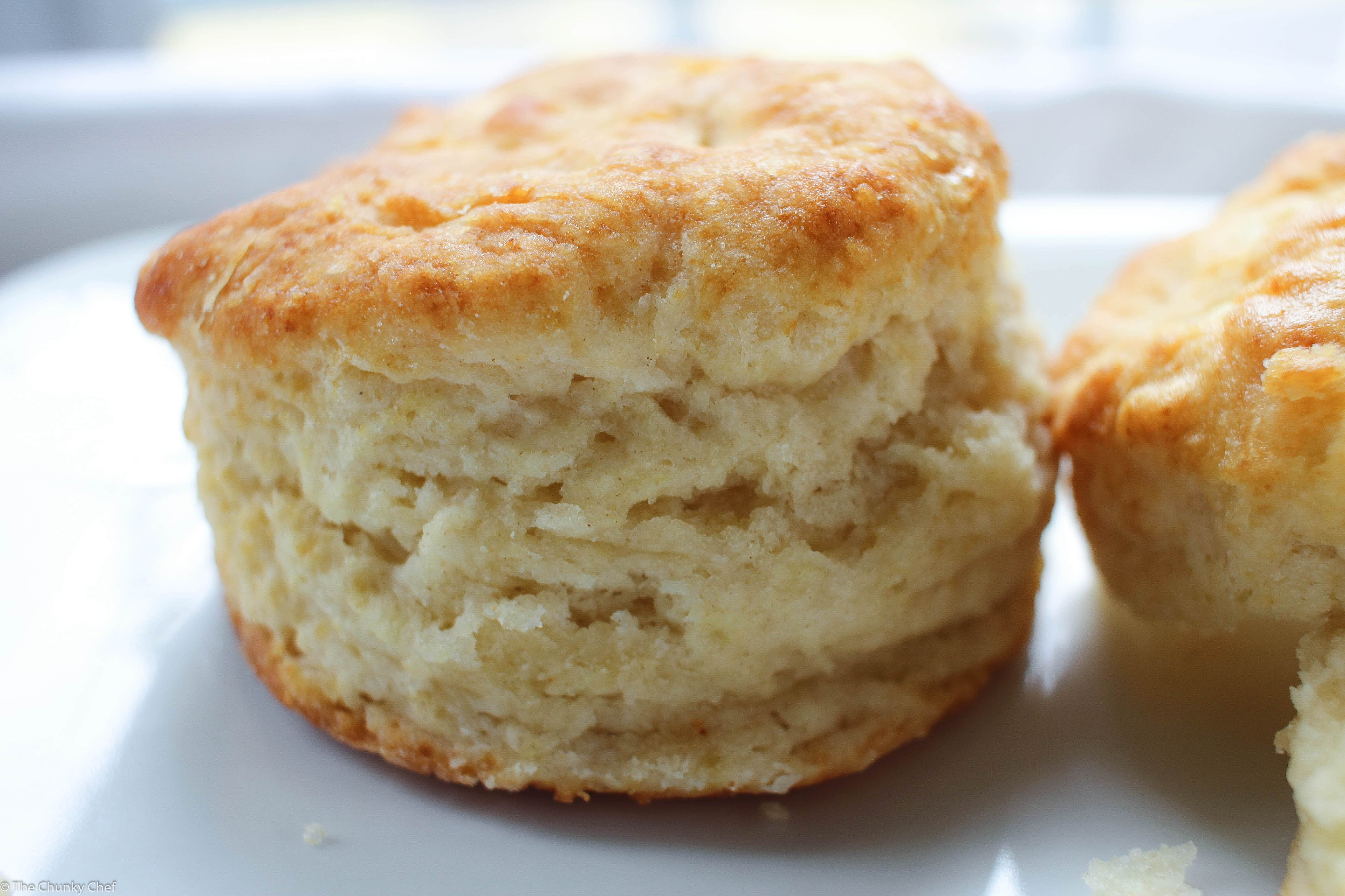 Buttermilk Biscuits and Sausage Gravy - The Chunky Chef