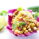 Sweet with a kick... this corn and poblano salsa has a wonderful roasted flavor!