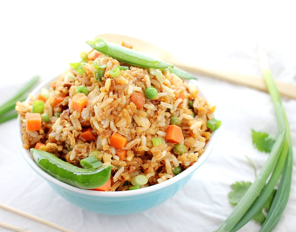 how to make chicken fried rice in malayalam