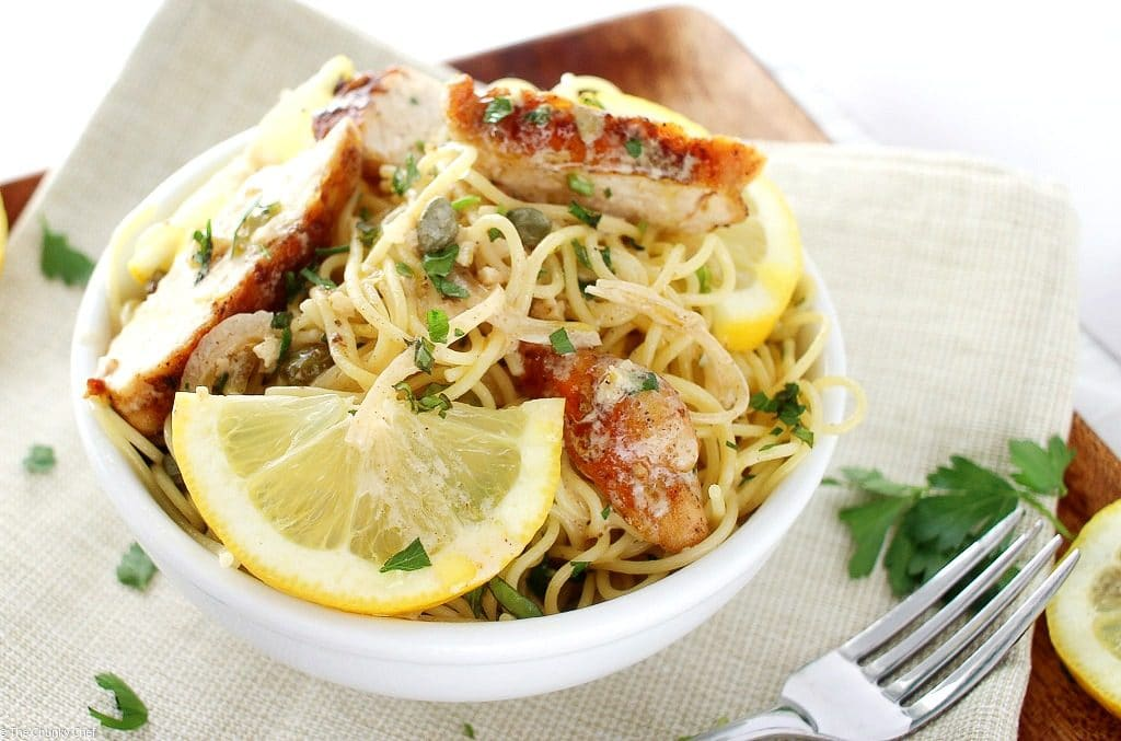 A quick and easy classic Italian dish, on your table in 30 minutes! Your family will love the bright fresh flavors of this easy lemon chicken piccata.