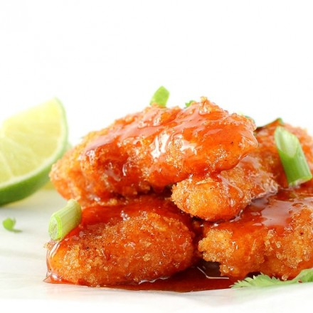 Simply put... you have to try these sweet and spicy sticky chicken fingers. Now. Today!! You'll love the sticky sauce with hints of sweetness and spice.