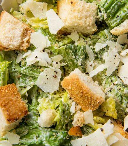 Homemade Caesar Salad Dressing The Chunky Chef