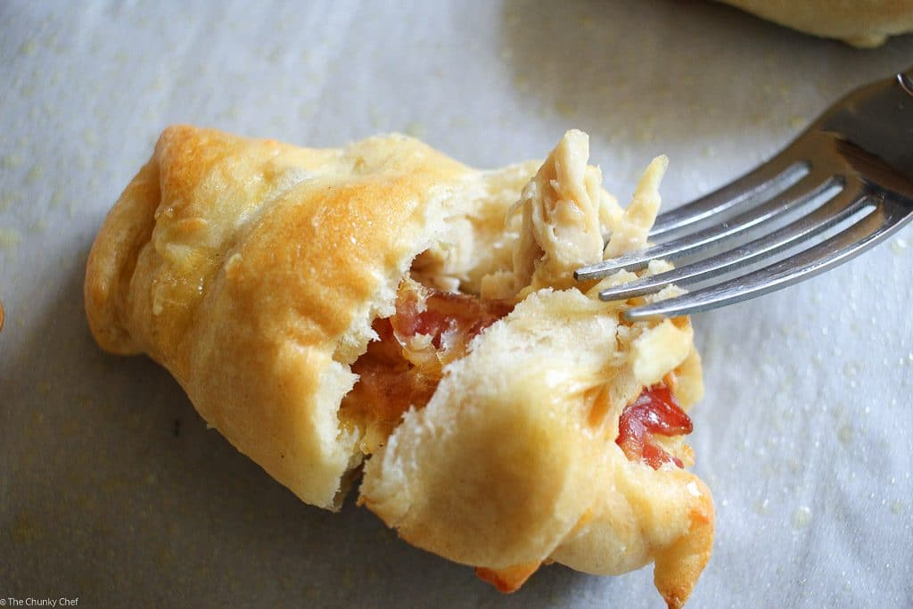Chicken Bacon & Ranch Stuffed Crescents-11