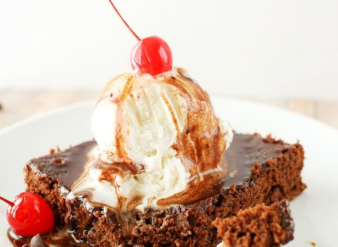 Coca-Cola Brownie Sundaes
