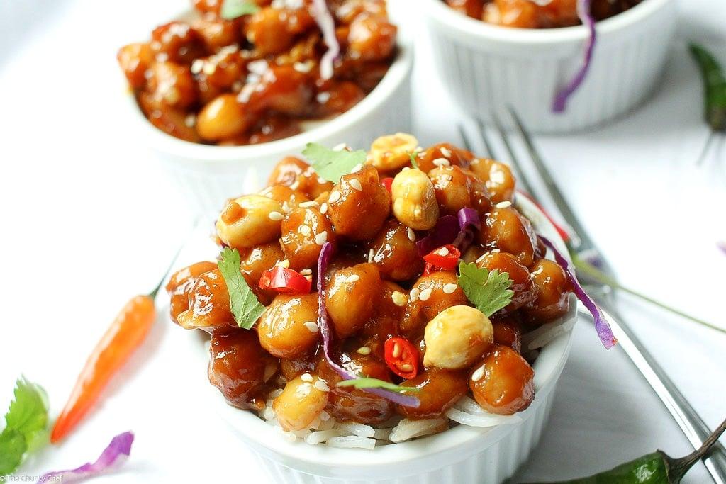 Kung Pao ChickpeasThe Chunky Chef