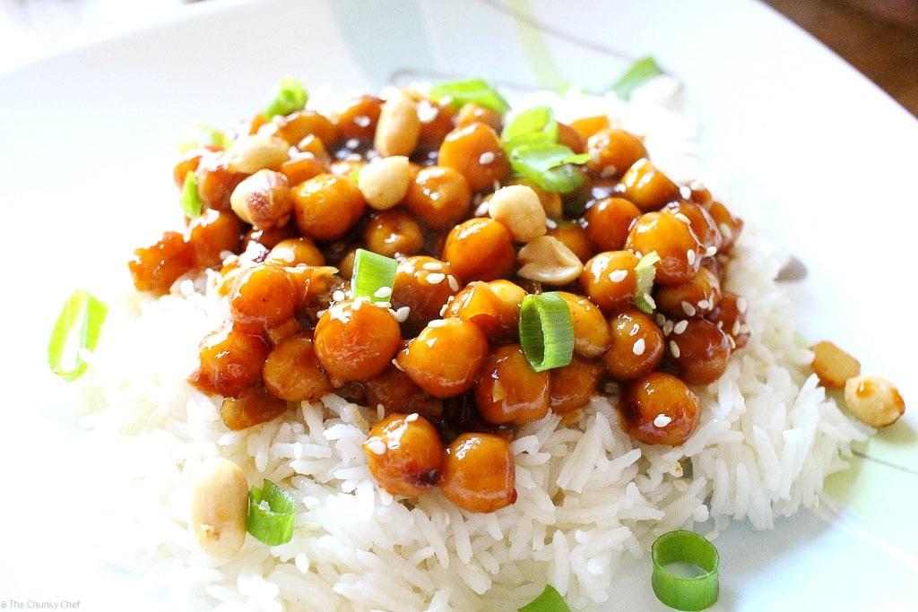 Kung Pao Chickpeas-4The Chunky Chef
