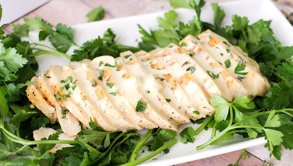 Seared Chicken with a Creamy Mustard Sauce-27 - The Chunky Chef