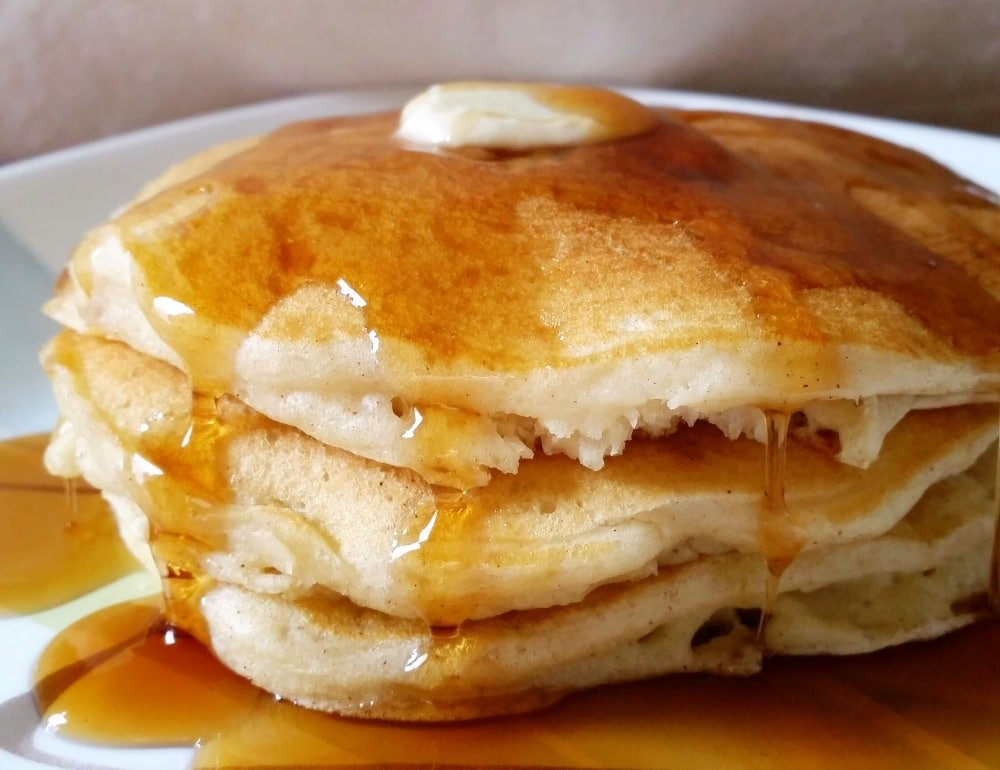 vanilla cinnamon buttermilk pancakes the chunky chef