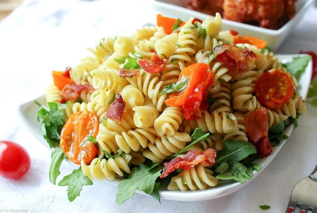 Easy Gourmet BLT Pasta Salad