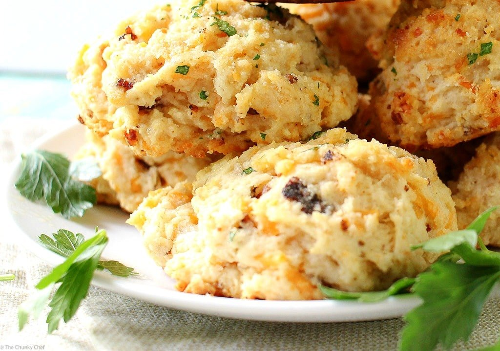 Fluffy buttermilk biscuits that are both savory and sweet… flavored ...