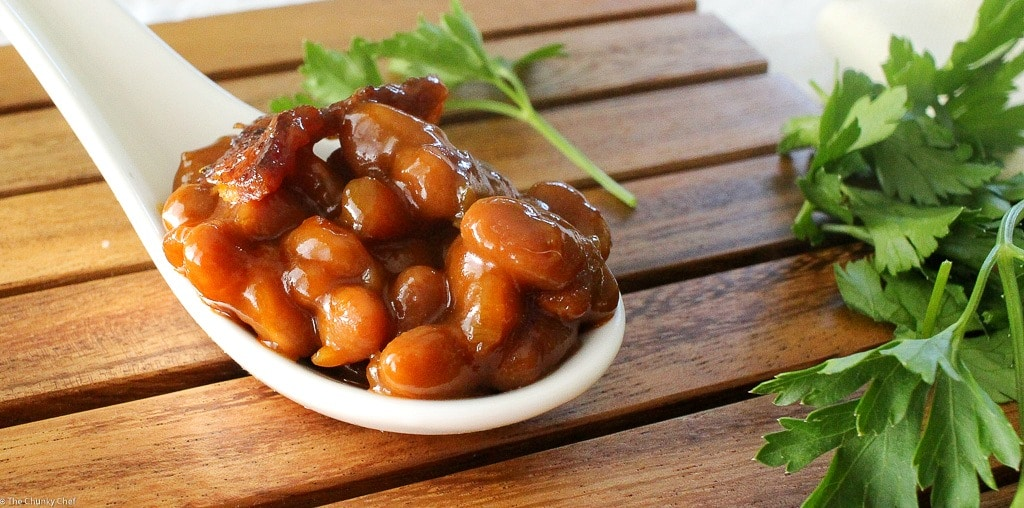 Brown Sugar and Bacon Baked Beans-26 - The Chunky Chef