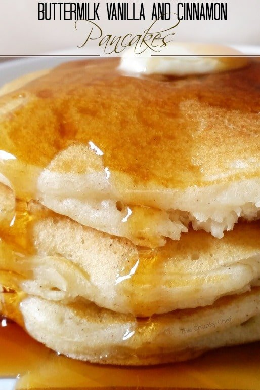 Vanilla cinnamon buttermilk pancakes the chunky chef the softest fluffiest best buttermilk pancakes from scratch savor the ccuart Images