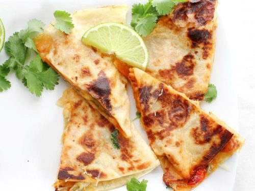 Chicken fajitas quesadillas the chunky chef forumfinder Gallery