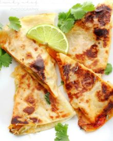 Chicken Fajita Quesadillas | Do you love chicken fajitas? Do you love quesadillas? Combine the two and you have one amazing quesadilla you'll want to make over and over!