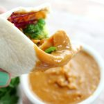 Spicy Thai Peanut Chicken Wraps