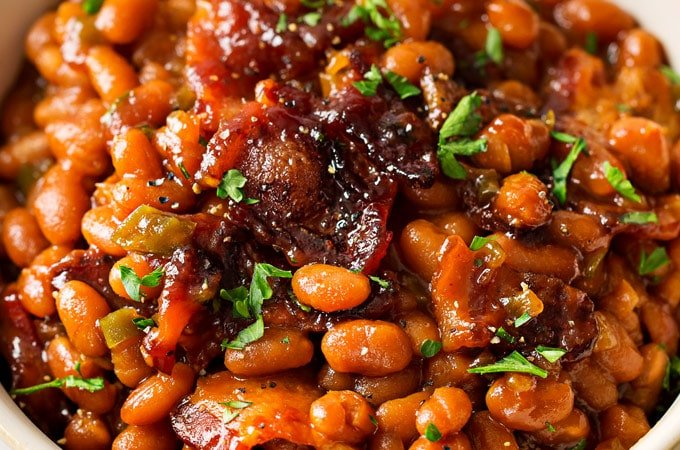 Brown Sugar and Bacon Baked Beans