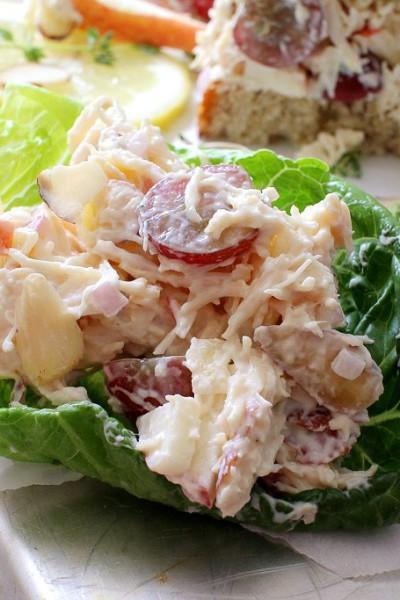 Easy Harvest Almond Chicken Salad