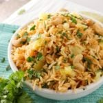 Tropical Coconut Pineapple Cashew Rice