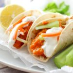 Mini Buffalo Chicken Tacos