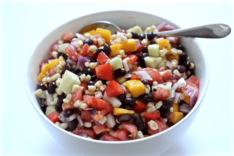 Black-bean-and-mango-salad