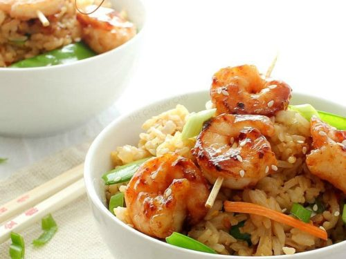 Easy 20 minute shrimp fried rice the chunky chef forumfinder Image collections