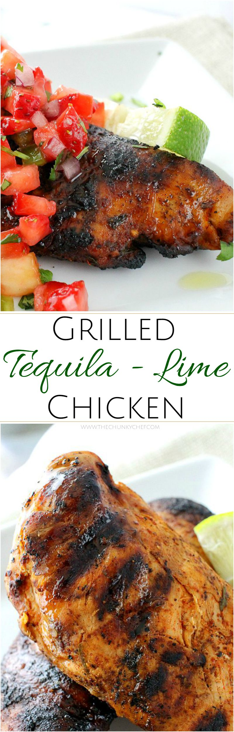 Lime Chicken | A simple and easy marinade gives this tequila lime ...