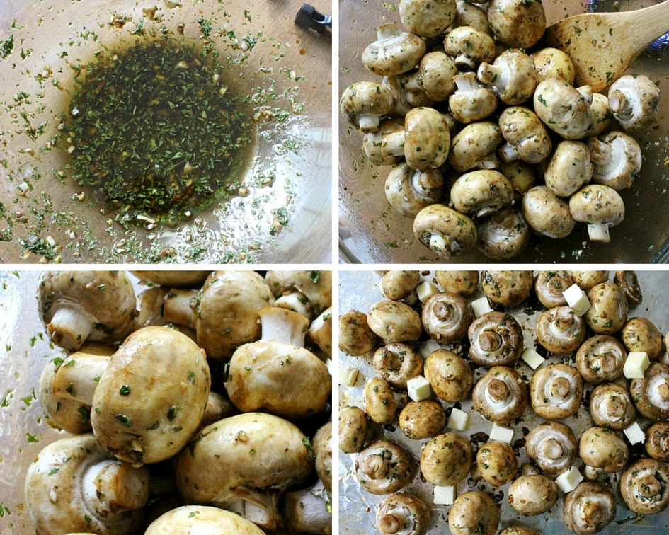Garlic and Balsamic Roasted Mushrooms   The Chunky Chef   http://thechunkychef.com