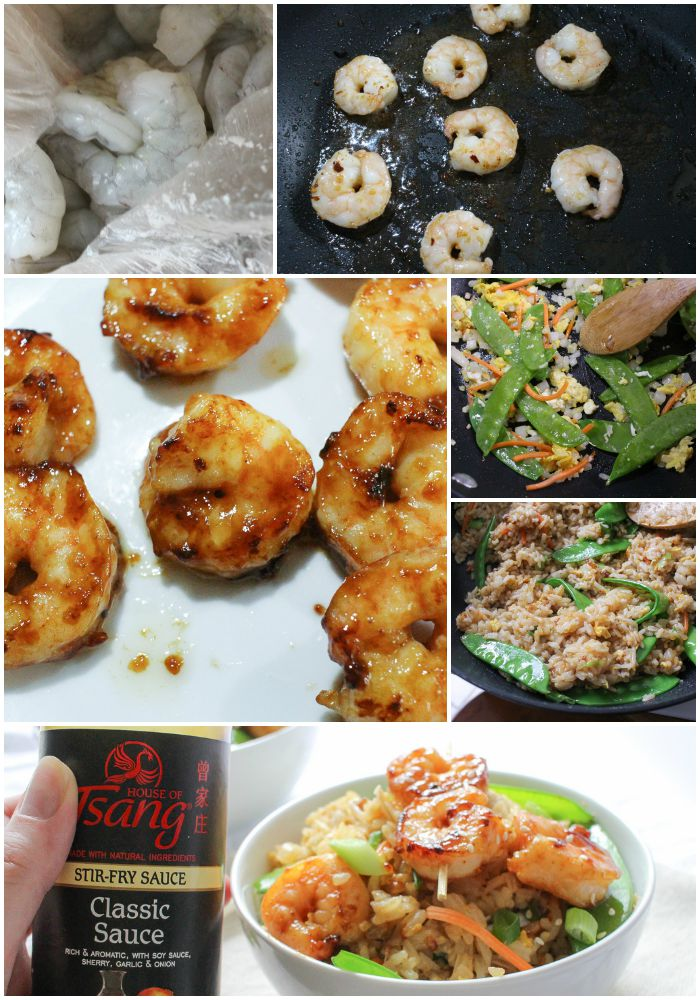 Easy 20 Minute Shrimp Fried Rice The Chunky Chef