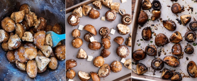how to make balsamic roasted mushrooms